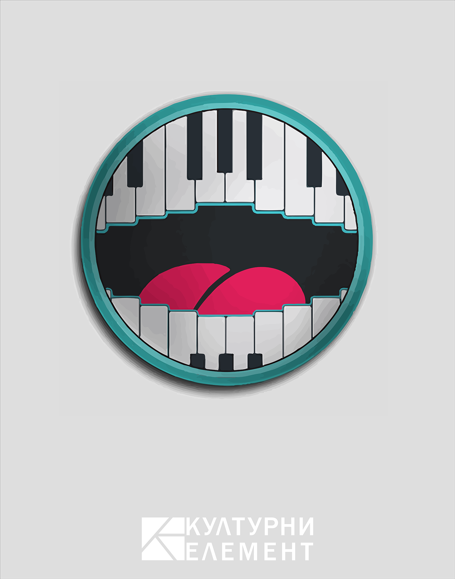 Badge Piano